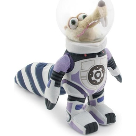 Buz Devri Ice Age - 5 Astronot Scrat Kasklı Peluş Figür 22cm Peluş Oyuncaklar