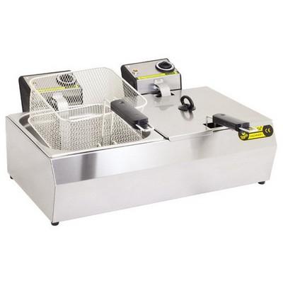 Remta R102 Çiftli Fritöz Kapaklı Elektrikli Endüstriyel Mutfak Ürünleri