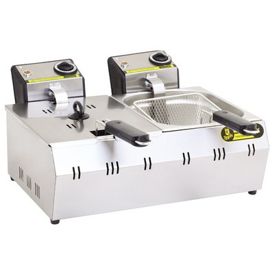 Remta R93 Çiftli Fritöz Kapaklı Elektrikli Çay Makinesi
