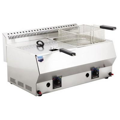 Remta R95 Çiftli Bacalı Fritöz Lpg Çay Makinesi