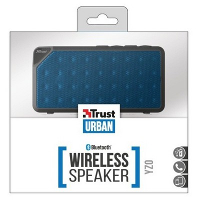 Trust Urbanrevolt 20028 YZO Wireless Speaker-Mavi Bluetooth Hoparlör