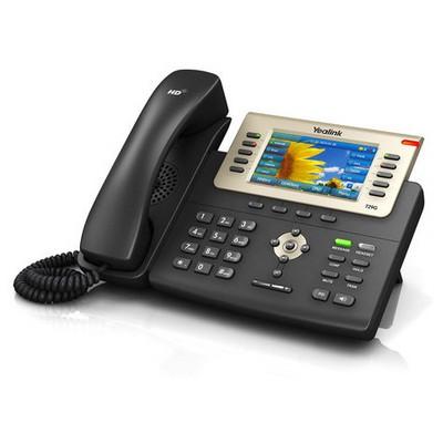 Yealink Sıp-t29g Ip Phone 4.3 (480x272) Tft Color Lcd, 16 Sıp Lıne 2xgıgabıt Port Sta