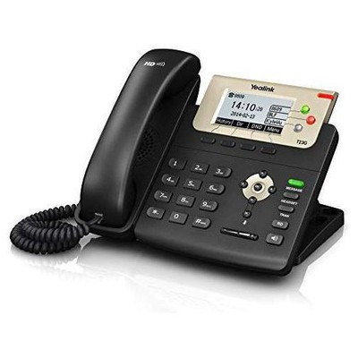 Yealink Sıp-t23p Ip Phone 132x64-pıxel Lcd, 2xport(poe), Wall Mountable,3 Sıp Accounts, Wıth Psu Kablolu Telefon