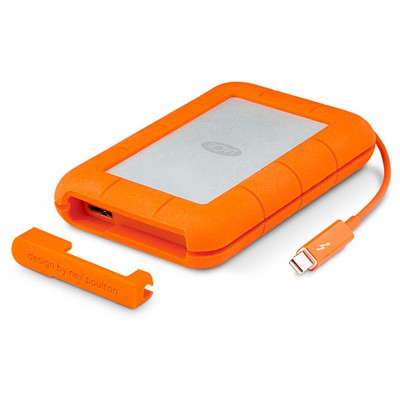 Lacie 2tb Rugged Thunderbolt & Usb3 W Integrated Cable Stev2000400 Taşınabilir Disk