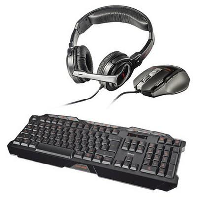 Trust Gaming KLAVYE/Mouse/KULAKLIK SET Klavye Mouse Seti