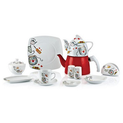 Goldmaster Ktk-3901 Çaydanlıklı Kahvaltı Takımı