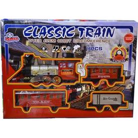 Vardem Orbit Klasik Tren Seti 16 Parça 412 Cm Erkek Çocuk Oyuncakları