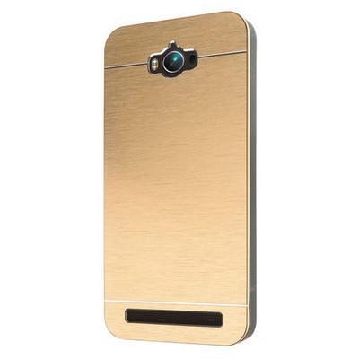 Microsonic Asus Zenfone Max 5.5 Inch Kılıf Hybrid Metal Gold Cep Telefonu Kılıfı