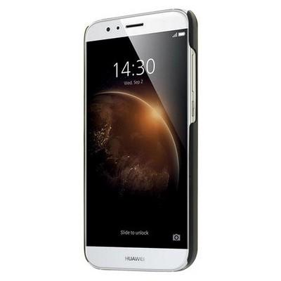 Microsonic Huawei G8 Kılıf Hybrid Metal Gümüş Cep Telefonu Kılıfı