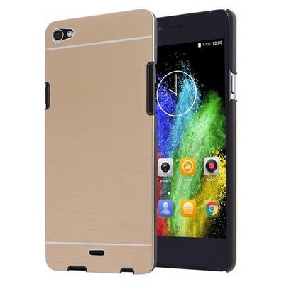Microsonic Casper Via V10 Kılıf Hybrid Metal Gold Cep Telefonu Kılıfı