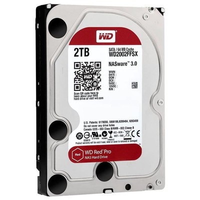 WD Red Pro 2TB NAS Hard Disk - WD2002FFSX