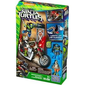 Mega Bloks Ninja Kaplumbağalar Moto Attack Rocksteady Oyun Seti Lego Oyuncakları