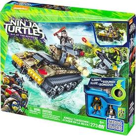 Mega Bloks Ninja Kaplumbağalar Jungle Battle Scene Lego Oyuncakları