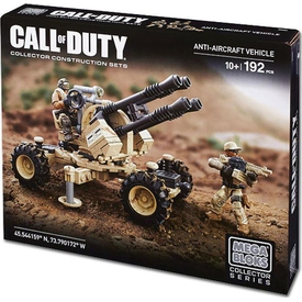 Mega Bloks Cod Anti-aircraft Vehicle Lego Oyuncakları