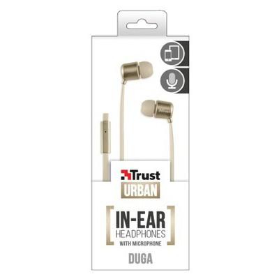 Trust Urban 20904 Duga Kulak Içi Kulaklık- Gold Kulak İçi Kulaklık