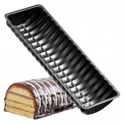 Zenker 6532 Black Metallic Oval Teflon Ekmek Kalıbı 30cm Kek Kalıbı