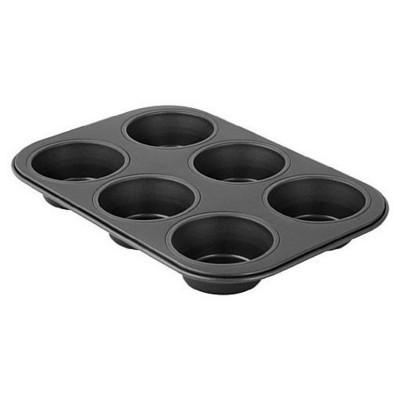 Zenker 6534 Black Metallic 6 'lı Muffin Kalıbı Kek Kalıbı