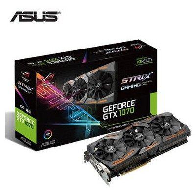 Asus GeForce GTX 1070 8G OC ROG Strix Ekran Kartı
