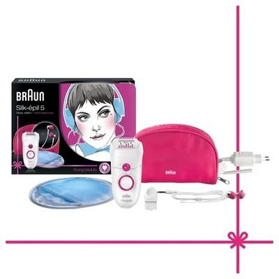 Braun Silk-epil 5 - 5187 Power Epilatör (Kulaklık Hediyeli)