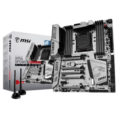 MSI X99A XPower Gaming Titanium Anakart