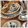 Kütahya Porselen Iris 97 Parça 6611 Desen Yemek Takımı