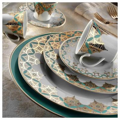 Kütahya Porselen Iris 97 Parça 8839 Desen Yemek Takımı