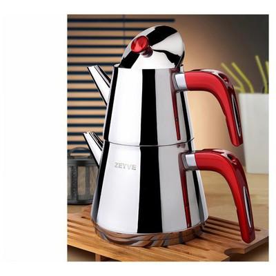 Akdeniz Zeyve Bz 911 Piramit Kendinden Süzgeçli Mini Çaydanlık