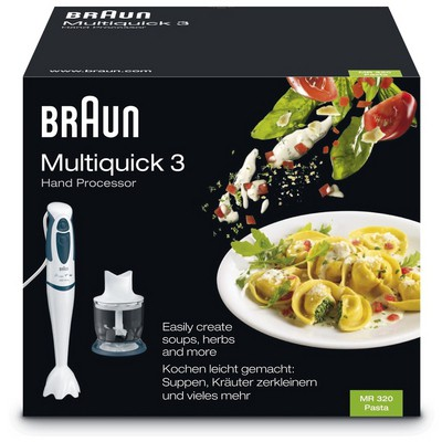 Braun Multiquick 3 MR 320 Pasta El Blenderi