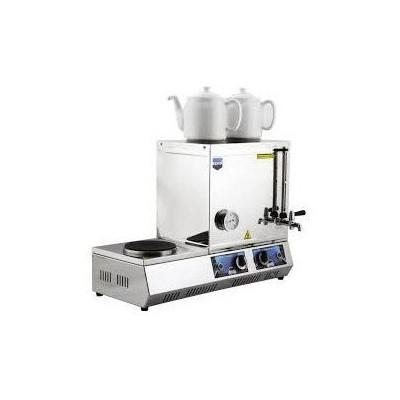 Remta K31 Çift Demlikli 30 Model Elektrikli Kahveci Takımı Endüstriyel Mutfak Aletleri