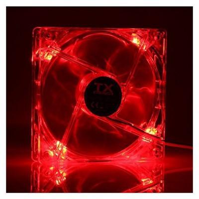TX CCF12RD Kırmızı 12cm Sessiz Kasa Fan