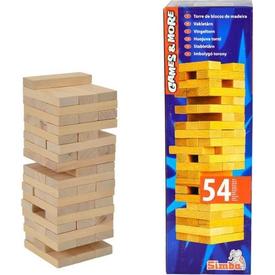 Simba Ahşap Bloklar Kule Oyunu Kutu Oyunları