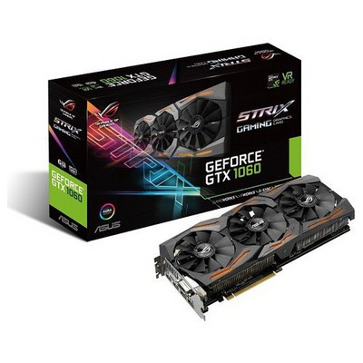 Asus GeForce GTX 1060 6G ROG Strix Ekran Kartı