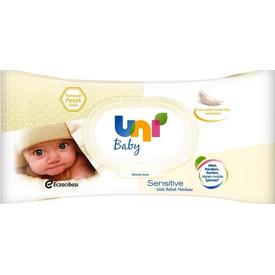 Uni Baby Gk-9470222 Sensitive Islak Bebek Havkusu 56 Adet Islak Mendiller