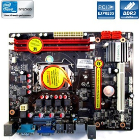 Hiper ESONIC H55KBL, H55, 1156 Pin, DDR3 mATX Anakart