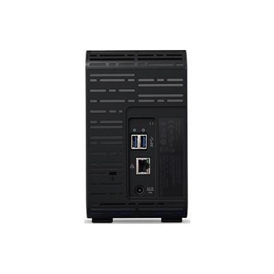 WD MyCloud EX2 2-Bay 12TB Nas Cihazı BVBZ0120JCH NAS Depolama Ünitesi