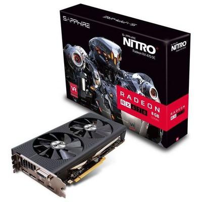 Sapphire NITRO+ Radeon RX 470 8G D5 OC Ekran Kartı (11256-02)