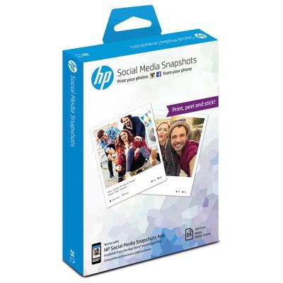 HP Social Media Snapshot 25 Sheets 10x13cm Fotoğraf Kağıdı