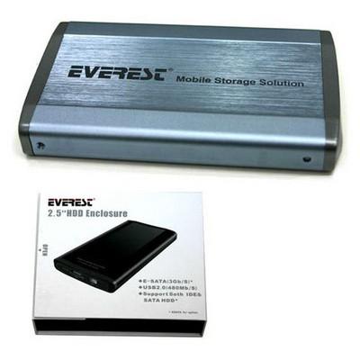 Everest 2.5 Hdc-160 E-sata To Ide/sata Disk Kutu Harici Disk Kutusu