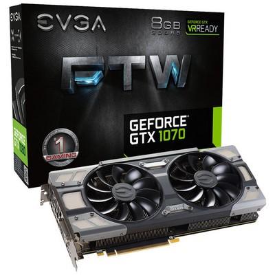 Evga GeForce GTX 1070 FTW Gaming ACX 3.0 8G Ekran Kartı