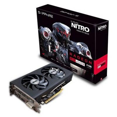 Sapphire NITRO Radeon RX 460 4G D5 OC Ekran Kartı (11257-02)