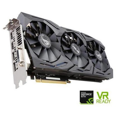 Asus GeForce GTX 1080 8G Advanced ROG Strix Ekran Kartı