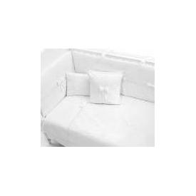 Funna Baby Premium  8 Parça 70x130 Cm Beyaz 60x120 Bebek Uyku Seti