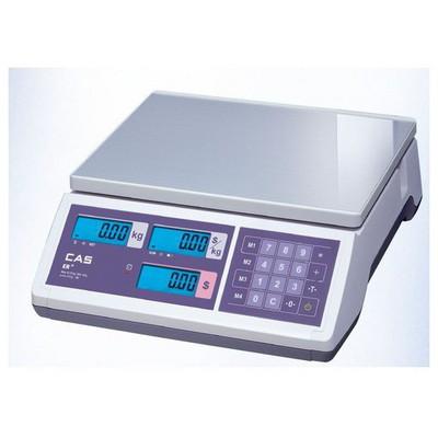 CAS ERJR ER JR C 30 KG - RS 232 Bağlantılı Mutfak Tartısı