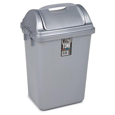Bora Plastik Çöp Kovası İtmeli 36 L Model BO194 Çöp Kovaları