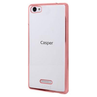 Microsonic Casper Via M1 Kılıf Flexi Delux Rose Gold Cep Telefonu Kılıfı