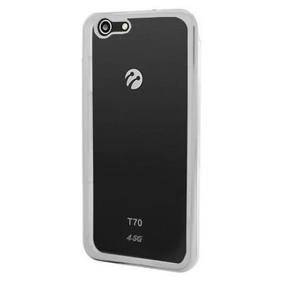 Microsonic Turkcell T70 Kılıf Flexi Delux Gümüş Cep Telefonu Kılıfı
