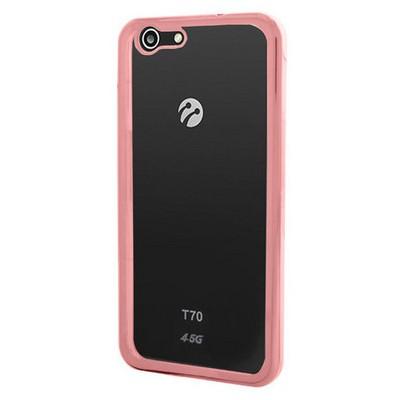 Microsonic Turkcell T70 Kılıf Flexi Delux Rose Gold Cep Telefonu Kılıfı