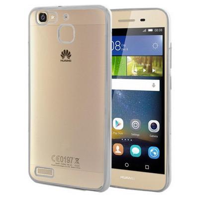 Microsonic Huawei Gr3 Kılıf Flexi Delux Gümüş Cep Telefonu Kılıfı