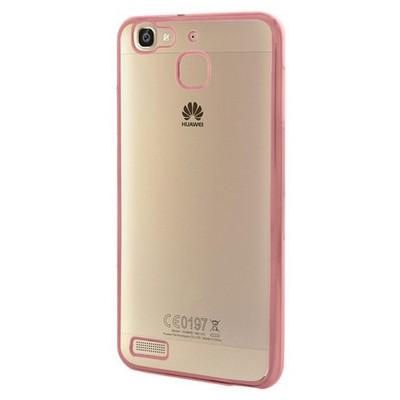 Microsonic Huawei Gr3 Kılıf Flexi Delux Rose Gold Cep Telefonu Kılıfı