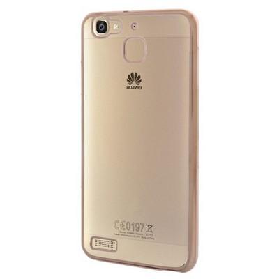 Microsonic Huawei Gr3 Kılıf Flexi Delux Gold Cep Telefonu Kılıfı